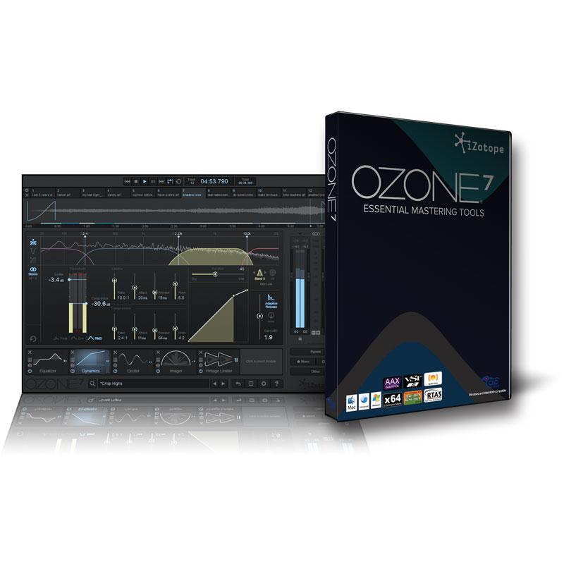 IZOTOPE OZONE 7 在庫限りの限定特価!安心の日本正規品!STD スタンダード
