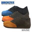 シューズ 送料無料 BIRKENSTOCK ビルケンシュトック Maine VL メイン レースアップ 672173 672183 672193 細幅 スエード...
