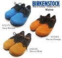 シューズ BIRKENSTOCK ビルケンシュトック Maine VL メイン レースアップ 672173 672183 672193 細幅 スエード メンズ レディース あす楽