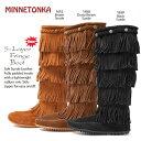 ブーツ レディース MINNETONKA ミネトンカ 5-layer Fringe Boot<5レイヤーフリンジブーツ>(1652,1658,1659) MINETONKA 楽天 通販 ..
