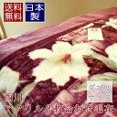 日本製 西川 毛布 ダブル アクリル 2枚合わせ 「ロザーナD」【あす楽対応_関東】【あす楽対応_甲信越】【あす楽対応_北陸】【あす楽対…