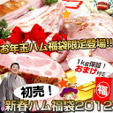 2012◆新春お年玉ハム福袋【幻の1kg保証ハム福袋】送料無料