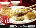 黒豚餃子(21g×15個)千葉県産黒豚使用 国産