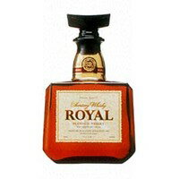 The tender lip opening in a mouth, a refreshing aftertaste! 700 ml of Suntory whiskey royal 43 degrees