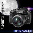 【取り寄せ商品】【特別価格\24800】富士フイルム FinePix S9800 FUJIFILM フジフィルム カメラ ミラーレス デジタルズーム 動画