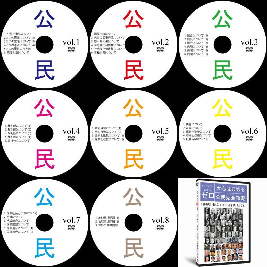 中学受験社会公民DVD全7巻