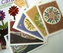 【メール便送料無料】★初回限定★お試しセット♪人気のカードをセレクト!アールヌーボーで綺麗なグリーティングカード3種類と縁起のいいポストカード2種類のセット