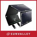 RAVPower ソーラーチャージャー ソーラー充電器 16...