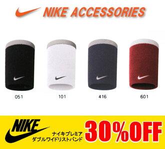 Nike (耐克) 腕帶總理雙寬腕帶 (2 件) N.NN.01 手腕支援