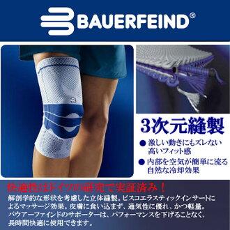 Bauerfeind (BAUERFEIND) GNU 火車 (顏色: 鈦) 的膝蓋關節和減輕疼痛的不穩定! 半月板損傷前 10: 韌帶膝關節支援膝關節支援