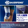 【あす楽】 【送料無料】 バウアーファインド(BAUERFEIND) ゲニュTrain (カラー:チタン) W151 膝関節の不安定・痛みの緩和に! 半月板損傷 前十時靭帯 ひざサポーター 膝サポーター