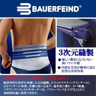 腰支援 Bauerfeind (BAUERFEIND) lumbotrain /LumboTrain (顏色︰ 鈦) 行為和腰支架的穩定性 !