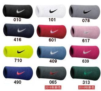 Nike (耐克) 手腕帶耐克旋風雙寬的腕帶 (2 件) N.NN.05 / BN5002 手腕支援耐克