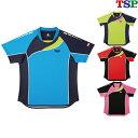 TSP ブリランテシャツ 031417 男女兼用 キッズ ジュニア 卓球ゲームシャツ ユニホーム ウェア