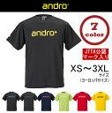 【あす楽】アンドロ ナパTシャツ4 卓球ユニフォーム Tシャツ 男女兼用 andro