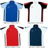 ゲームシャツHS 男女兼用 アシックス 卓球ゲームシャツ XK1048 卓球用品