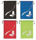 ラインストリーム・シューズ袋 バタフライ 卓球シューズケース 62420 卓球用品