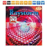 レイストーム バタフライ 卓球ラバー エネルギー内蔵型表ソフト 00280 卓球用品
