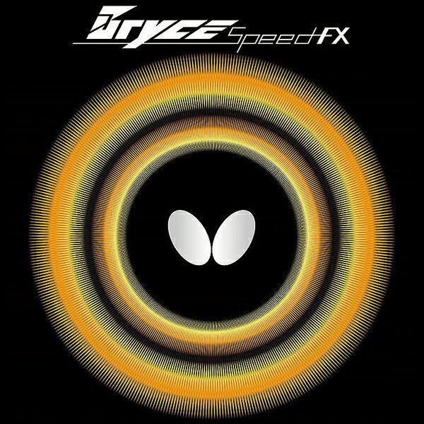 【あす楽】ブライススピードFX バタフライ 卓球ラバー エネルギー内蔵型裏ソフト 05720 卓球用品