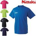 ドライTシャツ 男女兼用 ニッタク 卓球Tシャツ NX-2062 卓球用品 ※290228(70)