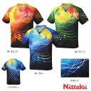 ニッタク Nittaku スカイメロディシャツ NW-2167 卓球ユニフォーム/ゲームシャツ 卓球用品