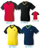 VNT-2男女兼用 Nittaku 乒乓球T恤NX-2069乒乓球用品[VNT-2 男女兼用 ニッタク 卓球Tシャツ NX-2069 卓球用品]