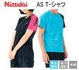 ニッタク(Nittaku) 卓球Tシャツ AS Tシャツ NX-2075 男女兼用 卓球用品