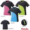 ニッタク Nittaku 卓球ウエア カールTシャツ NX2078 男女兼用 卓球用品