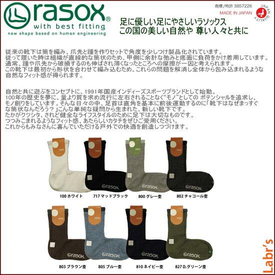 【rasox(ラソックス)】【UNISEX】ベ...の紹介画像3