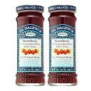 【送料無料】 サンダルフォー 100% ストロベリージャム 284g 2個セット【St. Dalfour】Fruit Spread 100% Natural Jam Strawberry 10 oz 2set