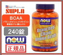 【NOW SPORTS】ナウスポーツBRANCHED CHAIN AMINO ACIDS BCAA ...