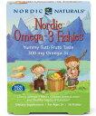 【送料無料】 子供用オメガ3 (2歳以上向け) オメガ3フィッシーズ トゥッティ・フルッティ味 36粒 ノルディックナチュラルズ【Nordic Naturals】 Nordic Omega-3 Fishies Tutti Frutti 300mg 36 Fishies