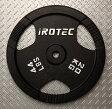 IROTEC(アイロテック)アイアンプレート20KG /ダンベル・ベンチプレス・筋トレ・トレーニング器具・トレーニングマシン・鉄アレイ・健康器具