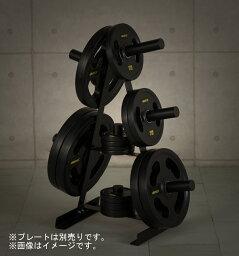 IROTEC(アイロテック) <strong>プレートラック</strong>オリンピックタイプ 『径50mm専用』ベンチプレス トレーニング器具 トレーニングマシン 筋トレ バーベル 筋力トレーニング 器具 マシン 自宅 バーベルセット バーベル