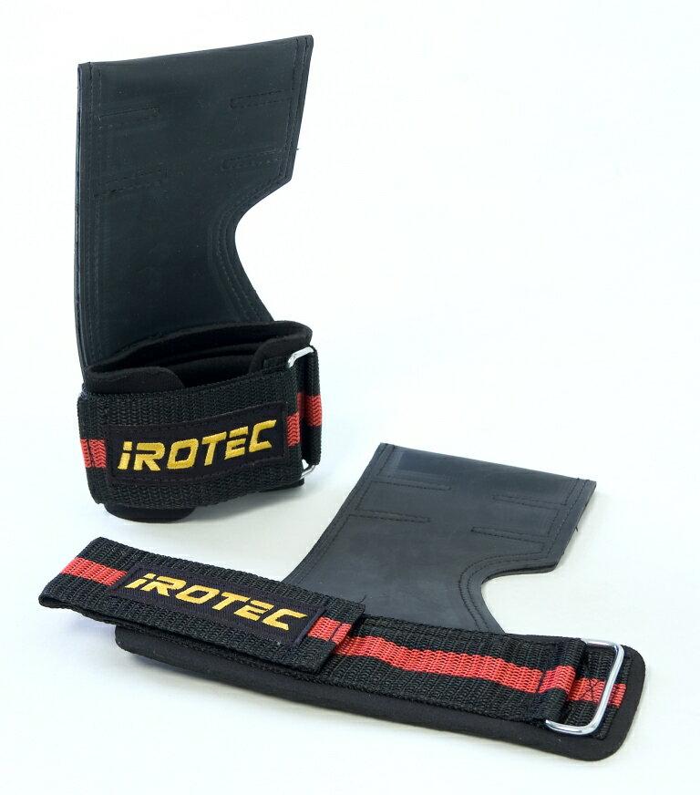 IROTEC(アイロテック)パワーグリップ/懸垂、ラットプルトレーニング時の補助として/ダ…...:super-sports:10000367
