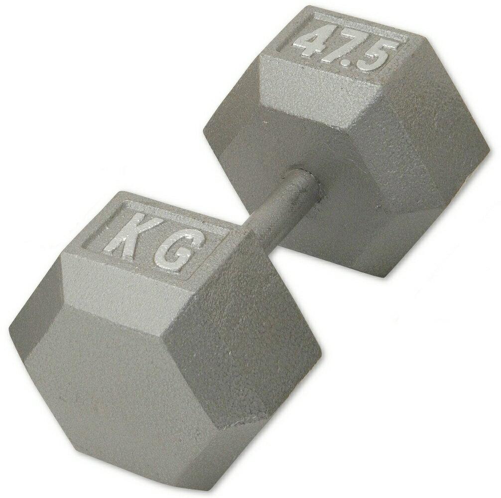 IROTEC(アイロテック)アイアンヘックスダンベル47.5KG /ダンベル・バーベル・ベンチプレス・筋トレ・鉄アレイ・トレーニング器具・トレーニングマシン・自宅・健康器具 とにかく安くて重いジムダンベルをお考えの方に最適!【オート】