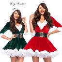 コスプレ 衣装 LEG AVENUE レッグアベニュー LA 85356 クリスマス サンタ 2点セット 正規品 ミニスカ サンタ コスチューム 衣裳 仮装 フレアスカート ファー フード パニエ チュチュ かわいい セクシー ファッション おしゃれ コーデ レッド ハロウィン 海外