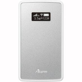 NEC Aterm モバイルルーター MP02LN SW メタリックシルバー PA-MP02LN-SW