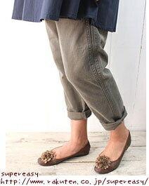 DEEP BLUE deep blue クラシックツイルツータックアンクル-length pants (クロプト pants)-73592 di - pool-Bull - women's
