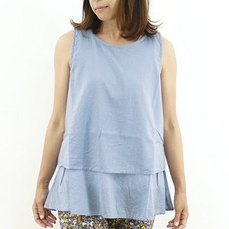 Lokapala ロカパラ mortgage products dye sleeveless blouse & LP130516 ladies