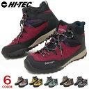 ハイテック アオラギ トレッキングシューズ 防水 メンズ レディース 登山靴 スニーカー ウォーキングシューズ ハイカット HI-TEC AORAKI MID WP HKU10