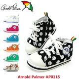 阿诺德·帕尔默AP0115 婴儿鞋【童鞋】儿童鞋Arnold Palmer 拉锁儿童轻便运动鞋印模松[アーノルドパーマー AP0115 ベビーシューズ 【子供靴】 キッズシューズ Arnold Palmer ファスナー キッズスニーカー ダイマツ]