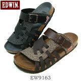 EDWIN エドウィン メンズ コンフォートサンダル EW9163