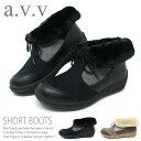 avv ブーツ レディース ショート 防寒 ショートブーツ ミッシェルクラン a.v.v 7000 靴 ハイカット スニーカー
