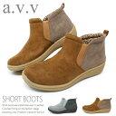 avv ブーツ レディース ショート 防寒 ショートブーツ ミッシェルクラン a.v.v 7001 靴 スニーカー