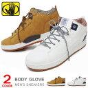 ハイカットスニーカー レディース メンズ キルティング シューズ 靴 おしゃれ かっこいい BODY GLOVE BG760