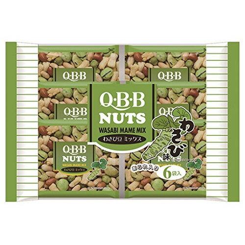 【6310】QBB わさび豆ミックス 6袋(1...の紹介画像2
