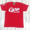 コラボTee/612268/カープロゴ&鯉Tシャツ/Carp Logo & Carp Tee/プリントTシャツ/カープ/カープ女子/野球/プロ野球/広島/チアー/Carp/Cheer/半袖Tシャツ