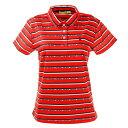 ビバハート(VIVA HEART) ゴルフウエア ポロシャツ レディース ロゴボーダーポロシャツ 012-22342-063 (レディース)