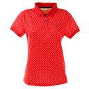 ビバハート(VIVA HEART) ゴルフウエア ポロシャツ レディース スクエアドット半袖ポロシャツ 012-22440-063 (レディース)